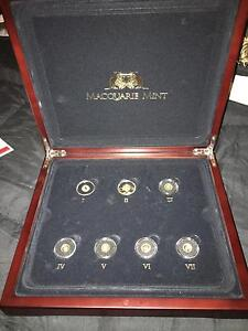 Smallest Gold Coins In The World Collection Macquarie Mint 2014 Nowra Nowra-Bomaderry Preview