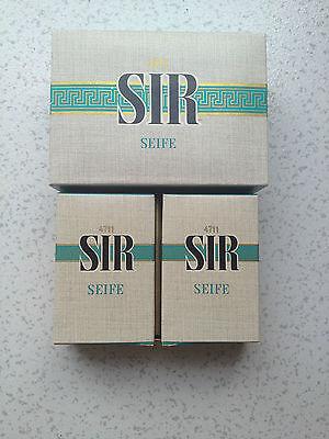 4711 SIR-SEIFE-2 Stück a 100 g -Vintage-RARITÄT