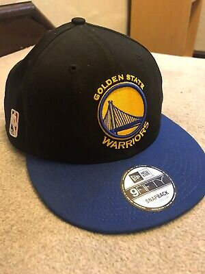 New Era NBA Golden State Warriors 9Fifty (Small-Medium) Snapback in Black