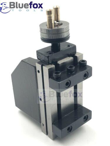 Mini Lathe Vertical Slide 90 x 50 mm Two Handle Milling Operation on Lathe