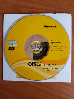 Microsoft Office: Mac 2008 Home & Student edition