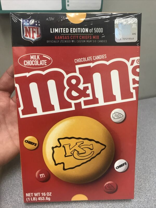 KANSAS CITY CHIEFS Mix Limited Edition M&M