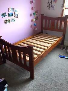 Single Timber Bed Suite, Single Bed, Toy Box Book Shelf, Tall Boy Vermont Whitehorse Area Preview
