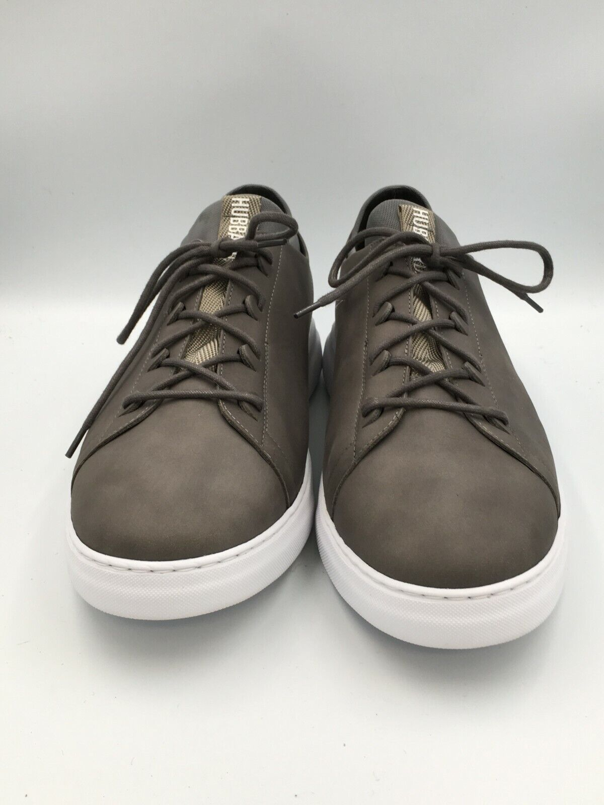 Samuel Hubbard Men s 13W Flight Casual Sneaker Gray Leather 1260 - $75.00