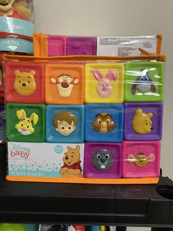 Winnie The Pooh Soft Blocks New! NIB