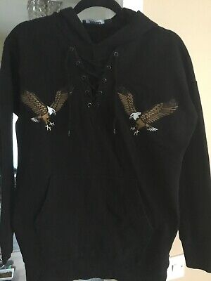 Jaded London Mens hooded top- size small