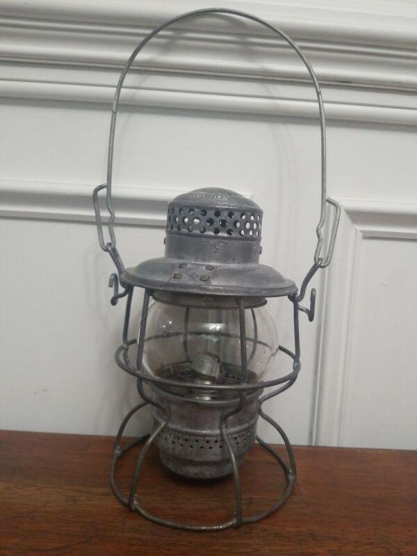 Eljin Joliet & Eastern Railway Lantern