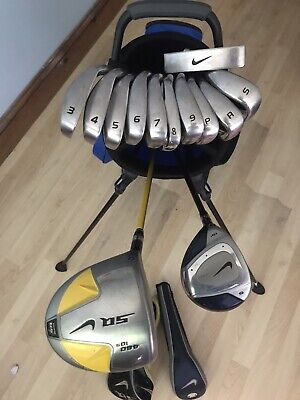 Full Set Of Left Handed Nike Golf Clubs, Cost Over £1300