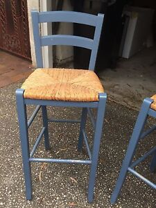 Bar stools French provincial x 3 South Yarra Stonnington Area Preview