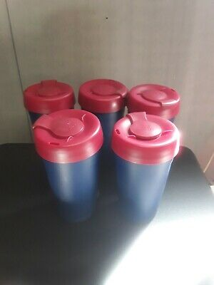 Keep Cup Reusable Plastic Cups with Lids X5 6oz 454ml