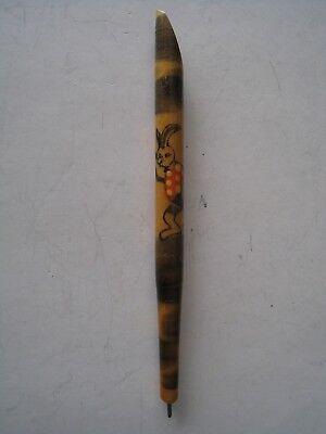 Vintage Ball Point Decorative Wood Pen - Decorative Pens
