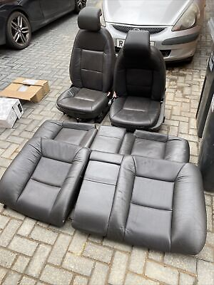 Saab 9-5 Griffin Leather Seats Front/Rear. VW T4 T5 Camper Conversion Seats