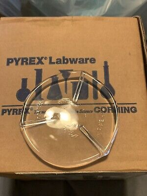 12 75mm Ribbed Watch Glass By Pyrex