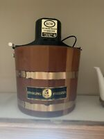 Vintage Electric ice cream maker.