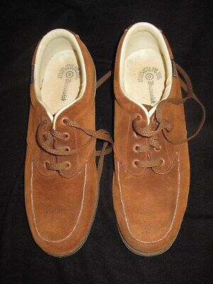 Used, Brunswick Mens Bowling Shoes Brown 9 for sale  Huntington Beach