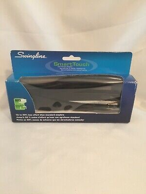 Swingline Smarttouch Stapler Full Strip 25-sheet Capacity Black 66503 New In Box
