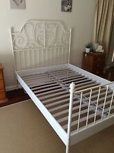 IKEA Leirvik Bedframe & mattress SOLD Lockleys West Torrens Area Preview