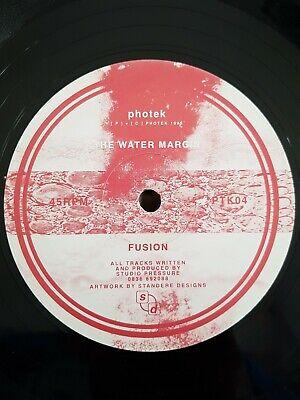 STUDIO PRESSURE (PHOTEK) - THE WATER MARGIN / FUSION - PTK04 - RARE 1995 BUKEM