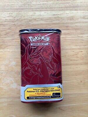 Pokemon 2014 Mega Charizard XY Elite Trainer Deck Tin Sealed Flashfire Booster