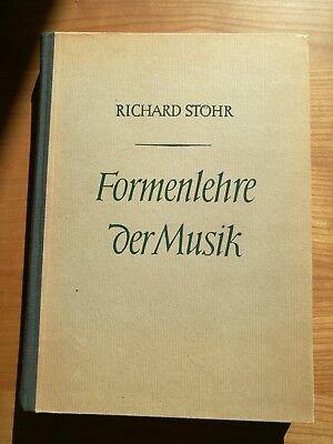 Noten. Stöhr. Formenlehre der Musik.