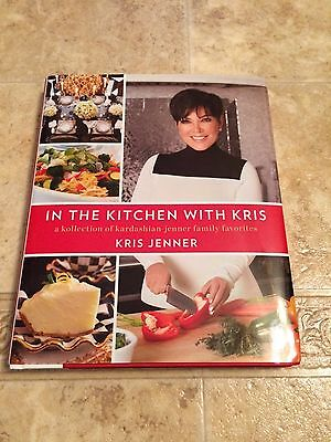 Kris Jenner Kardashian In The Kitchen Signed Edition Cook Book Coa Autograph