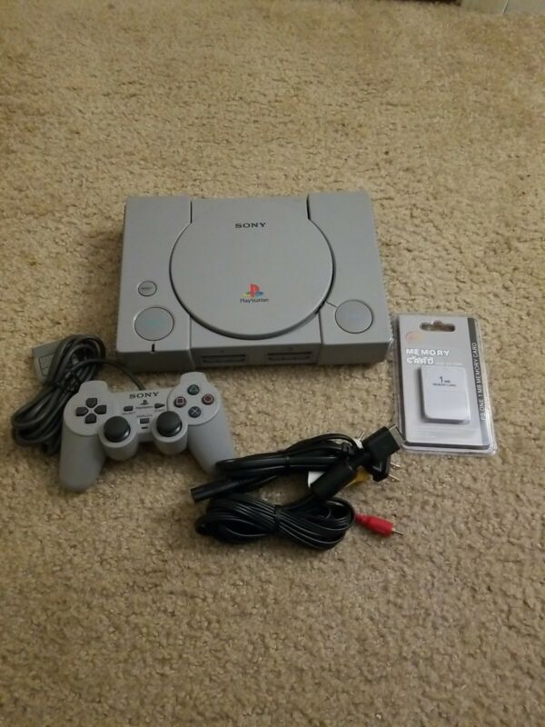 Playsation 1 Console With Accessories New Out Of Box