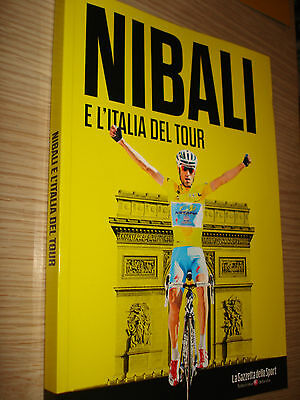 PHOTO BOOK VINCENZO NIBALI E L'ITALIA DEL TOUR DE FRANCE 2014 WINNER 192 PAG.
