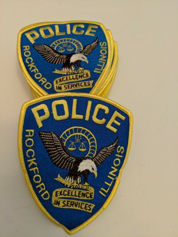 Lot of 25 Rockford Illinois Sheriff Department Patches