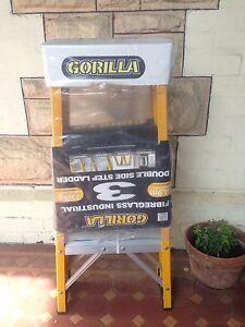 Gorilla 0.9m Fibreglass Ladder (new) Millswood Unley Area Preview