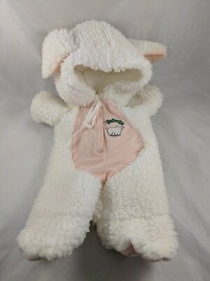 Coleco Cabbage Patch Kids Doll SHEEP LAMB Costume Outfit 1984](Cabbage Patch Kids Costume)