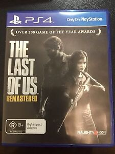 PS4 Farcry 4 and The Last Of us remastered games for sale Bedford Bayswater Area Preview