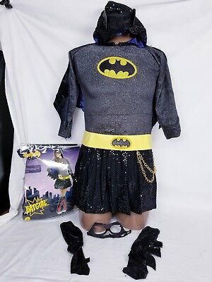 Rubie Teen / Girls Batgirl Child Superhero Halloween Costume Size XL 10-12 yrs