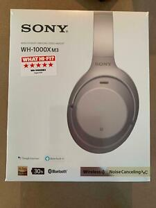 Sony WH-1000XM3 Wireless Noise Cancelling Headphones - Champagne