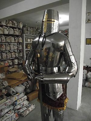 Full Body Armour Suit Medieval Knight Suit of Armor 15th Century Combat Sword