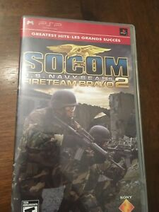 PSP game - U.S. NAVYSEALS FIRETEAM BRAVO 2 almost new