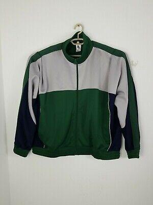 Mens Nike X Martine Rose Track Jacket Green/Blue/Gray AQ4456-323 Size XL