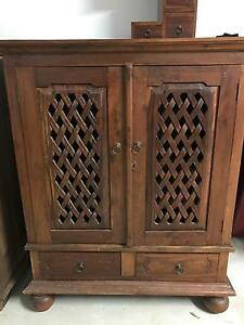 Balinese style TV cabinet Heathwood Brisbane South West Preview