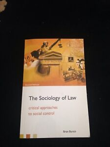 Sociology of Law textbook