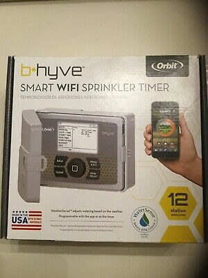 ORBIT 57950 B-HYVE SMART INDOOR/OUTDOOR 12-STATION WIFI SPRINKLER TIMER SYSTEM