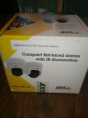 Axis Communication Inc 0866-001 M3104-lve Fixed Dome Poe Outdoor H.264