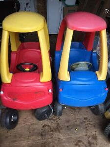 Little Tykes Cozy Coupe (Blue on only)
