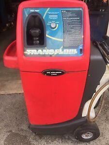 Transmission flush machine