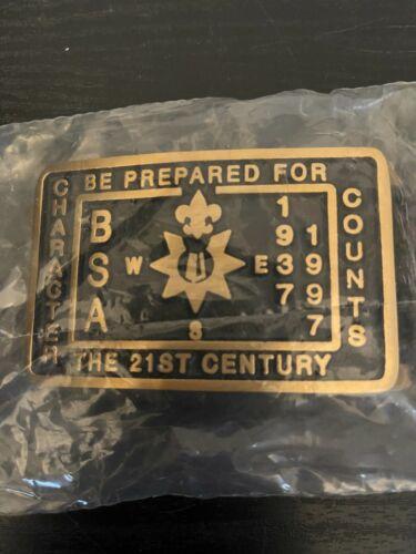 NobleSpirit Excellent 1997 Max Silber BSA Belt Buckle new
