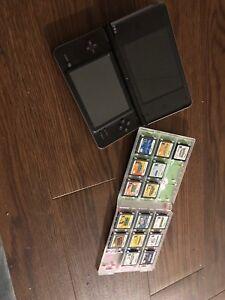 Nintendo DSI XL with 15 games