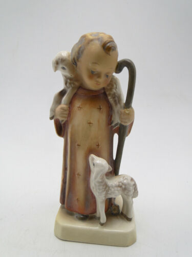 Old Goebel Hummel 61/2 in Figurine Good Shepherd 43/0 full bee TMK2