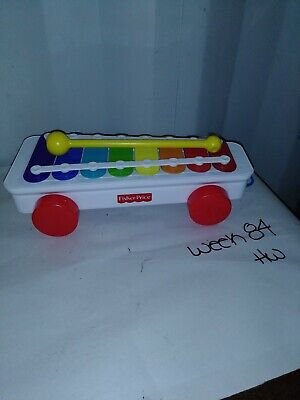 2009 Fisher Price Classic Xylophone Toy With Mallet -  Mattel©