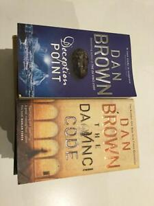 Books 6 Dan Brown &; 1 Sam Bourne  excellent condition Highton Geelong City Preview