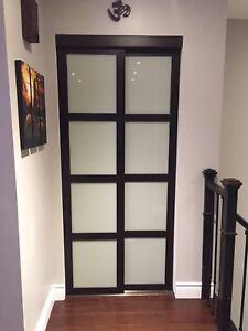 Contemporary interior sliding  closet doors