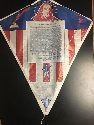 Kite Paper (Vintage Top Elite Paper Kite Declaration of Independence)
