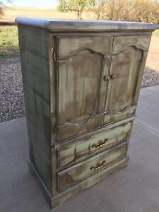 Rustic Farmhouse Solid Wood Chest